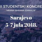 """Studentski kongres """"Hrana Ishrana Zdravlje"""""""