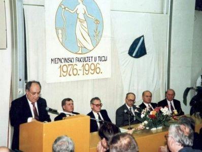 Obilježavanje 20 godina postojanja Medicinskog fakulteta u Tuzli